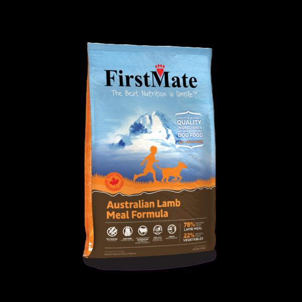 FirstMate crocchette per cani formula Agnello Australiano