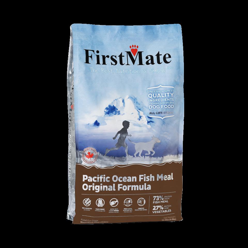 FirstMate crocchette per cani pesce azzurro