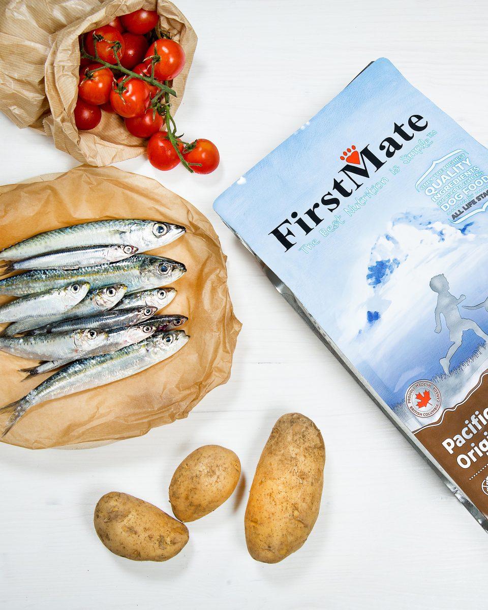 FirstMate crocchette per cane con pesce azzurro pescato